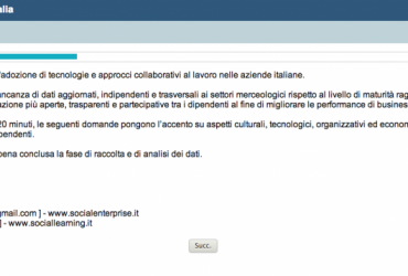Partecipa alla Social Collaboration Survey 2013!